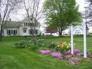 Announcing:  Clary Lake Bed and Breakfast New Web Site